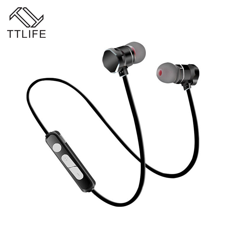 TTLIFE X3 Wireless Bluetooth Earphone Magnetic Sports Bluetooth 4.1 Headset Music Stereo Original Headphones For Android Phone 50pcs lot original s9 bluetooth headset s9 sports headphones wireless headset for iphone android iso
