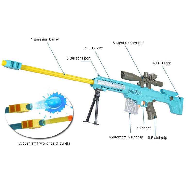 Bb Air Soft A Gun Plastic Hobbies 92cm Lawrence Barrett Pistol Toy Submachine Bullet Free Shipping In Guns From Toys