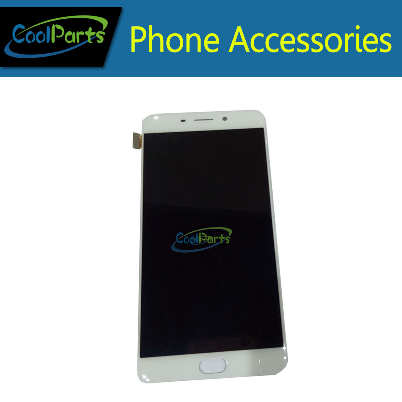 High Quality White color LCD DIsplay + Touch Screen Digitizer Assembly replacement  For OPPO R9 R9 plus without frame 1pc/Lot.