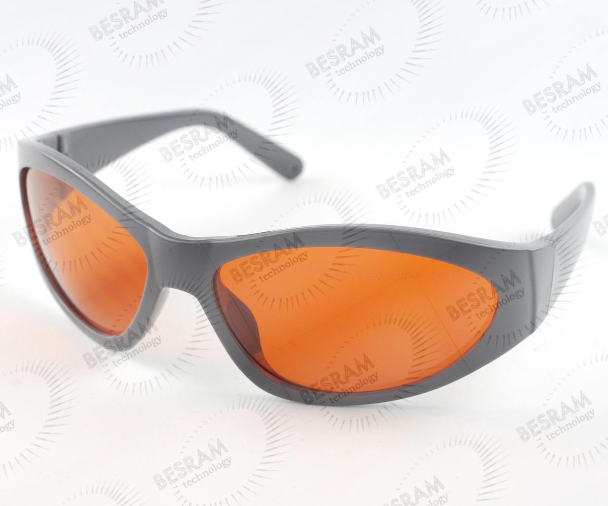 200nm-532nm OD6+ 900n-1100nm OD5+ Laser Protective Goggles Safety Glasses 55#