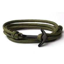 NIUYITID Handmade Bracelet For Women Men Fashion New Anchor