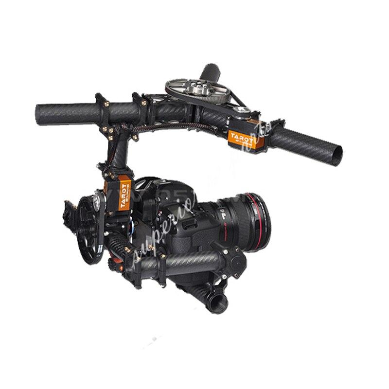 Tarot Invincible 3 axes TL100AAA 5D2 support de caméra pour DSLR 5D Mark D800 900 photo aérienne FPV TL100B01 - 2