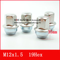 16PCS M12x1.5mm  wheel nut with stailess cap  for Chevrolet  Cruze CAPTIVA  Aveo Impala  VOLT EQUINOX 9596863