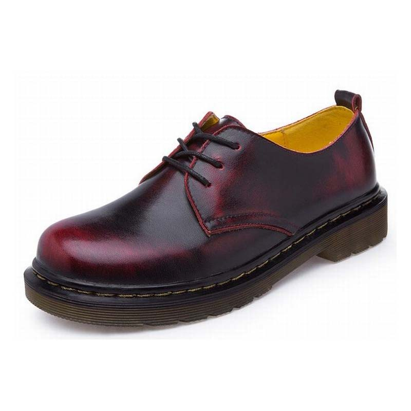 2017 new fashion british style vintage women split leather lace up oxford shoes thick low heels ladies shoes big size 35-44 new 2015 autumn flat t strap oxford shoes for women vintage british style round toe low thick heels women oxfords shoes woman