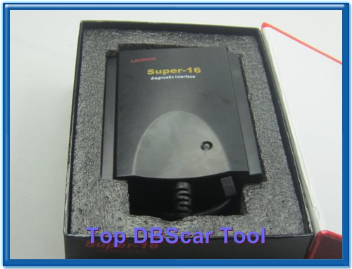 100% original Launch Super-16 connector for diagnostic tool X431 Super scanner update via internet free shipping цены