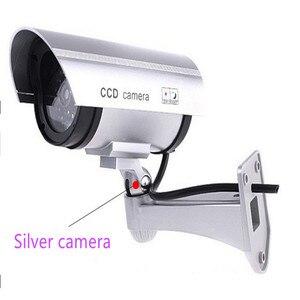Image 2 - Keeper עמיד למים Dummy מזויף CCTV מצלמה עם מהבהב LED עבור חיצוני או פנימי מציאותי מחפש מזויף מצלמה עבור אבטחה