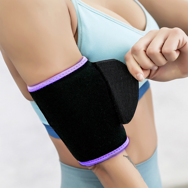 Waist / Arms / Thigh Belt Rubber Adjustable Sweating Slimming Wrap Brace Body Building Fitness Sportswear Accessories 5