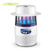 JQWORV Electronic USB Mosquito Killer Lamp 365nm UV lamp lure Moth Fly Mosquitoes Trap Insect repellent Bug Zapper Pest control
