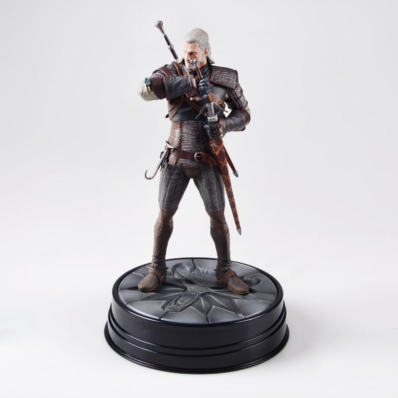 Hunt:Geralt-Figure The Witcher Dark-Horse Wild Deluxe