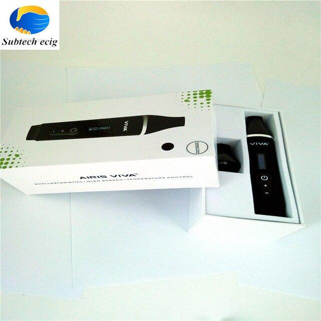 Новые продукты Airistech VIVA испаритель Сухого электронная сигарета Mod Starter Kits 2200 мАч батареи Полный выпечки сухой травы vaperizer