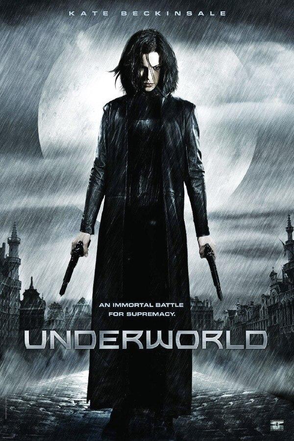 Kate Beckinsale, underworld 1 Movie poster silk stoff druck 12x18 ...