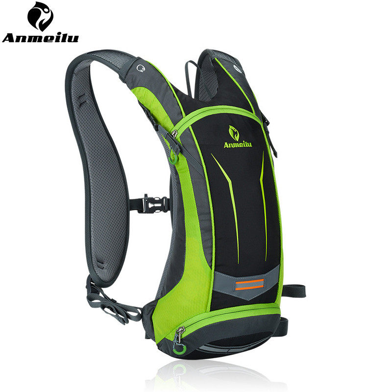 ANMEILU 8L Waterproof MTB Bike Water Bag Nylon Cycling Backpack For Bicycle Outdoor Hiking Trekking Hydration Backpack 4 Colors