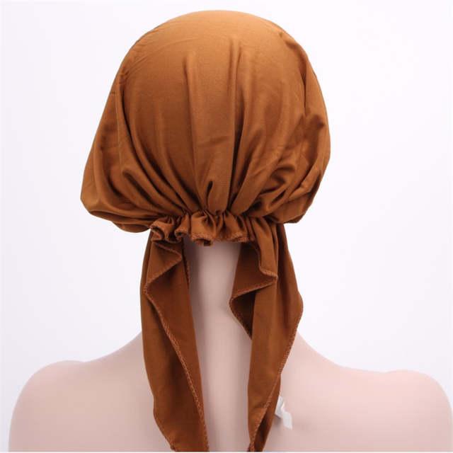 82cb9b43e11 placeholder Hot Style Elastic Polyester Women Headwrap Head Wrap chemo cap  spandex bandana du rag headcloth Bandanas