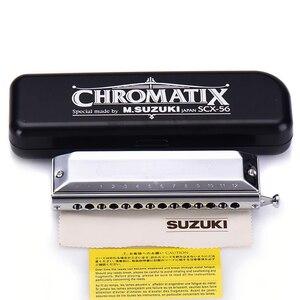 Image 4 - Suzuki SCX 56 C Series Chromatic Harmonica Chính của C 56 Brass Tháp Mười 14 Lỗ Chuyên Nghiệp Chất Lượng Cây Đàn Hạc Nhật Bản Nhạc Cụ