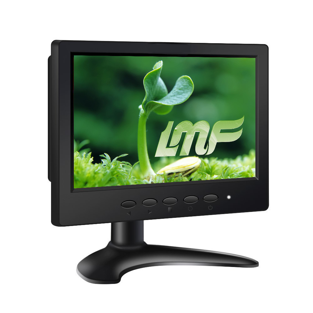 Fress Shipping C07 1024*600 7 Inch LCD Touch Monitor Screen with HDMI VGA BNC AV USB Interface Speakers вытяжка hansa okc 6111 zh