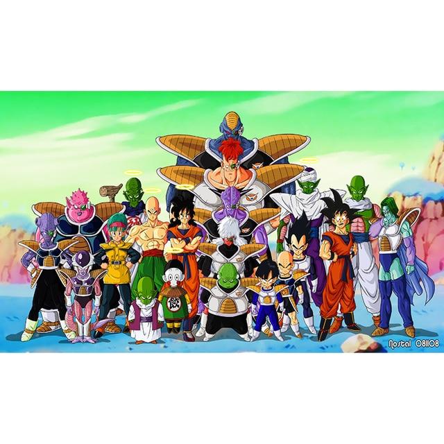 Dragon Ball Z Evil Characters Playmat Edicion Limitada 35x60 Cm