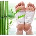 20 шт. = (10 шт. Патчи + 10 шт. Клеи) Kinoki Ноги Detox Патчи Колодки Тела Токсинов Ноги похудения Очищение HerbalAdhesive Горячие