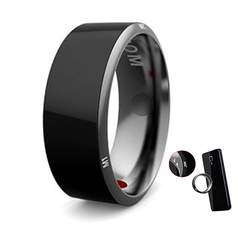 Image 3 - Werable devices Jakcom R3 Smart Ring  electronic CNC Metal Mini Magic Ring with  IC / ID / NFC Card Reader For NFC Mobile Phoneringly smart ringnfc ring smartsmart nfc -