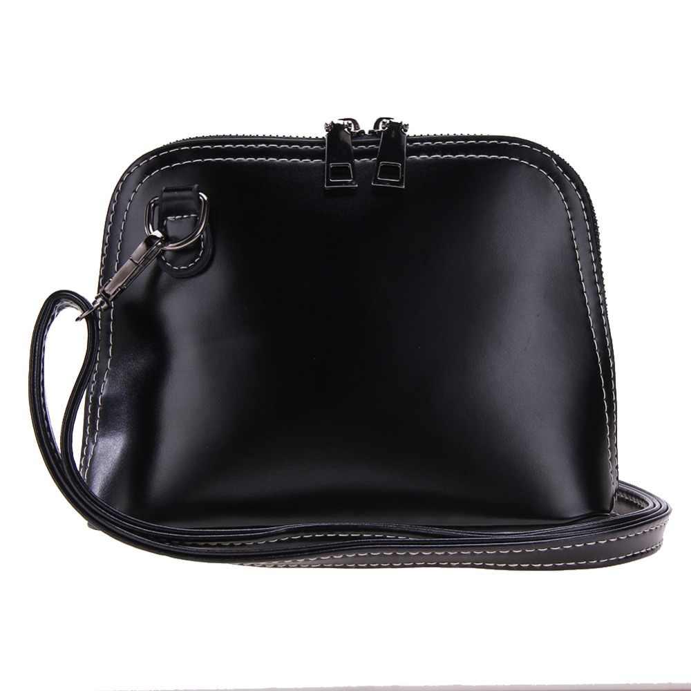 542e95a8e662 Spring Retro Women Shells Messenger Bag Female PU Leather Vintage Shoulder  Crossbody Bag Fashion Ladies Small