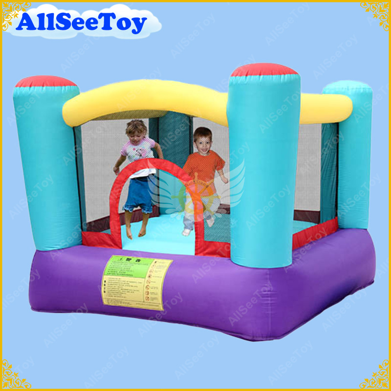 Cheapest Mini Inflatable Jumping Castle with Air Blower,Bouncy Castle for Children,Beautiful Bounce House