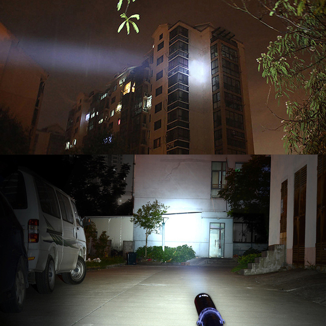 Albinaly Baseball Bat LED Flashlight 3800 Lumens Super Bright Baton aluminium alloy Torch for Emergency and Self Defense 5