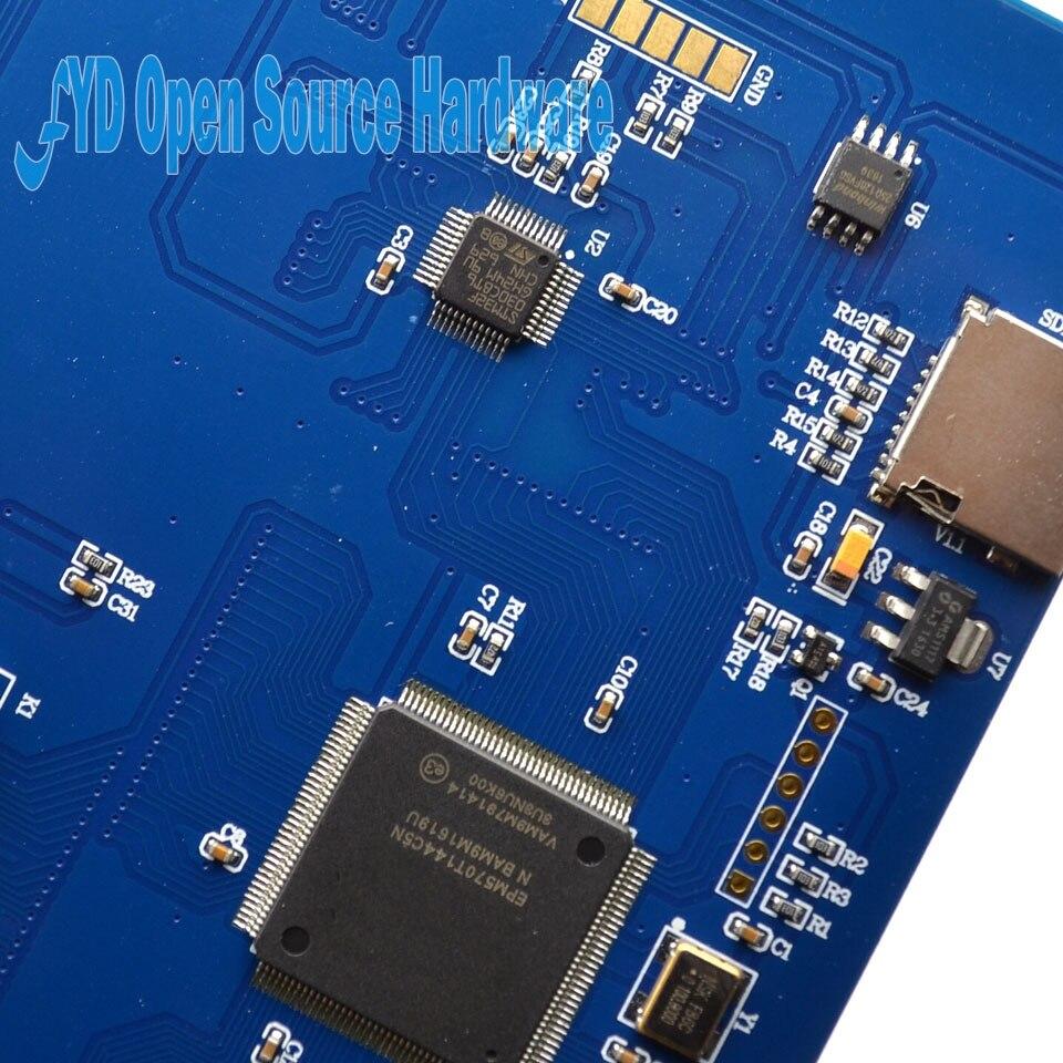 Nextion pantalla táctil TFT de 7,0 pulgadas 800x480 UART HMI inteligente Panel de visualización de módulo LCD para modelo Raspberry Pi 3 - 5
