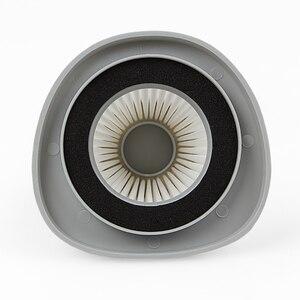 Image 4 - 5 PCS الأبيض فلتر هواء مانع للجسيمات عالي الكفاءة + 5 PCS hepa تصفية القطن فراغ نظافة أجزاء من فراغ نظافة فلتر عنصر DX118C DX128C