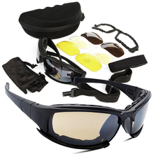Tactical D a i s y. X7 Glasses Military Goggles Army Sunglasses With 4 Lens Original Box Men Shooting Eyewear Gafas