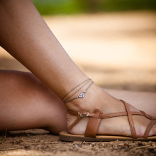 The new gypsy bohemian style jewelry foot foot chain yoga anklet  free shipping