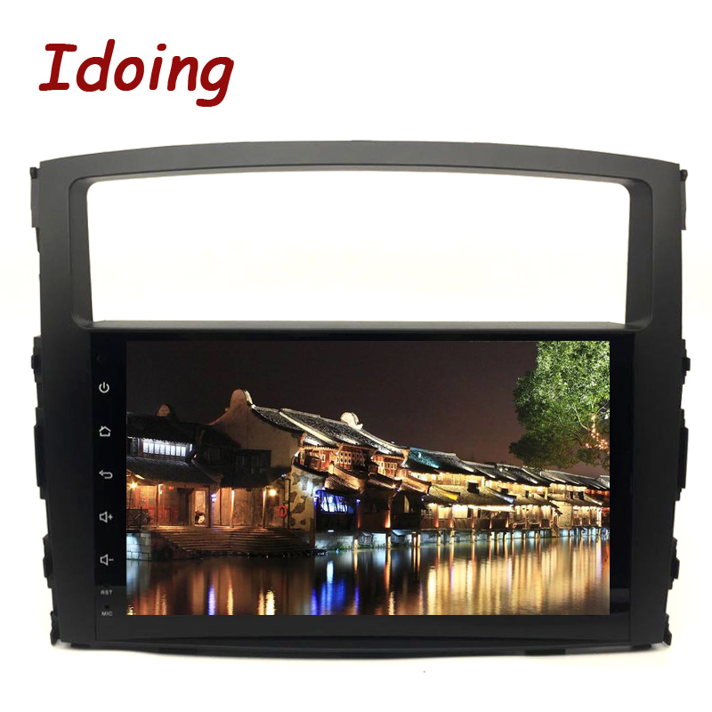 Idoing 9 Android 8 0 Car GPS Player for Mitsubishi Pajero V97 V93 2006 2011 with