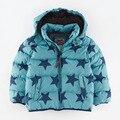 2016 мода Дети Теплые Пальто Спортивный Детская Одежда зимняя куртка для мальчиков Девочек Куртки Осень и Зима ребенка пальто