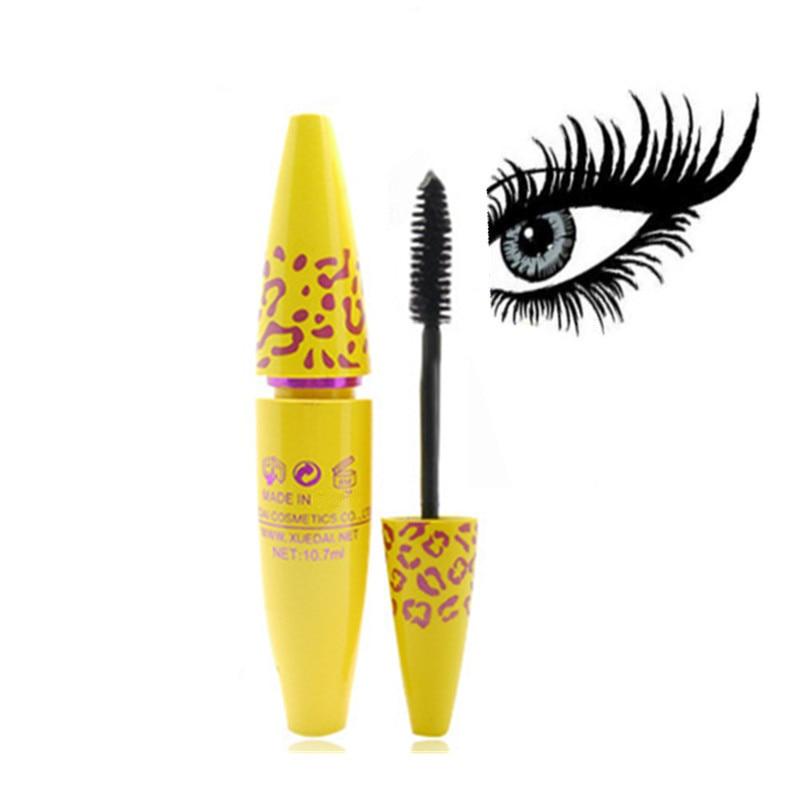 Makeup Cosmetic Length Extension Long Curling Eyelash Black Mascara Eyelash Lengthener Makeup Maquiagem Rimel Mascara 1pcs