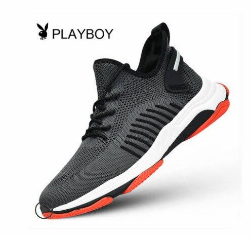 a25267dd1 ... homens novos Coreano tendência respirável outono alta estado running  shoes. Playboy New Men S Shoes High Shoes Korean Trend Breathable Autumn  High State ...