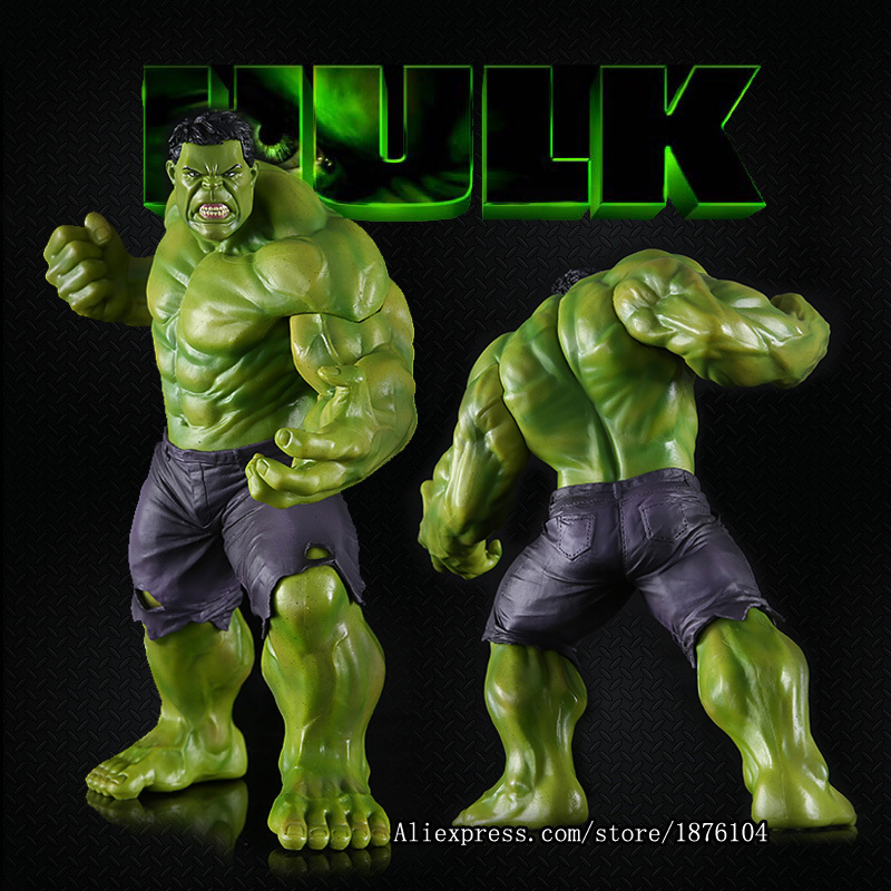 26cm Super Heroes The Marvel Avengers Select Movie Anger Hulk Action Figures Toys PVC Resin Plastic Model Statue Dolls Kids Toy movie super hero the hulk pvc action figure toy 25cm red hulk green hulk figures toys free shipping