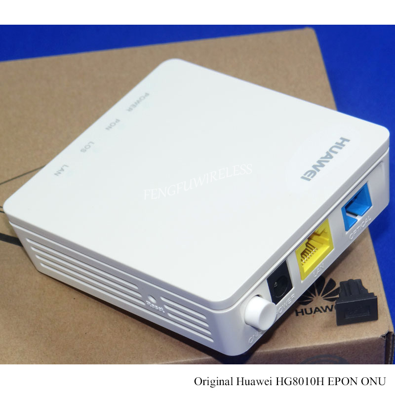 Hottest Original Second-hand Used Hg8010h Epon Onu Ont Ftth Sfu Router Mode 1ge Lan Port Epon Terminal Bridge Model Communication Equipments Fiber Optic Equipments