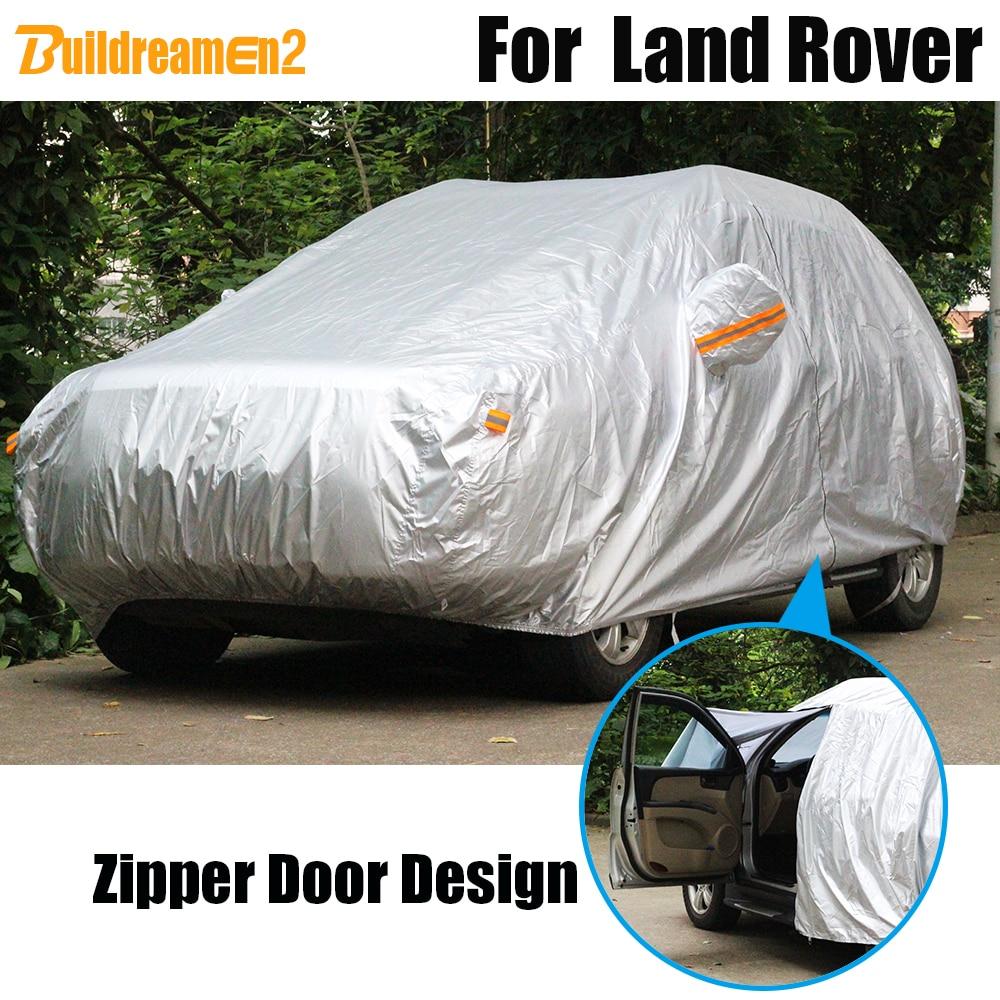 Buildreamen2 Full-Car-Cover Dust-Resistant Snow Waterproof Sun Rain for Evoque Freelander