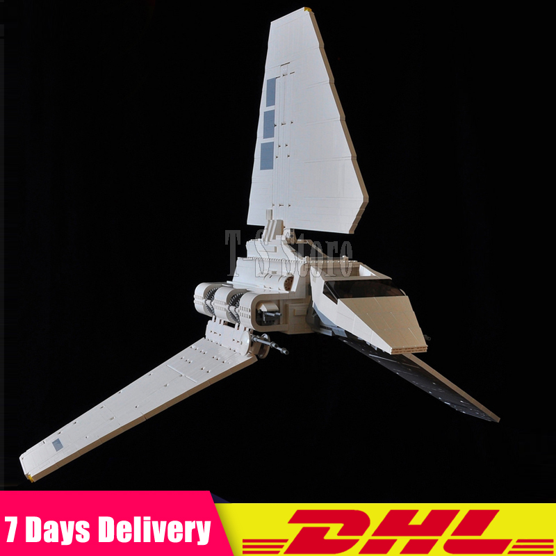 DHL LEPIN IN STOCK 2503 Pcs Star 05034 Series Wars The Imperial Shuttle Building Blocks Bricks Assembled DIY Toys 10212 Gifts dhl lepin 18032 2932 pcs the mountain cave my worlds model building kit blocks bricks children toys clone21137 in stock