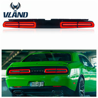 VLAND Factory for Car light assembly for Challenger LED Taillight 2008 2014 LED Tail lamp with day time running light wholesale