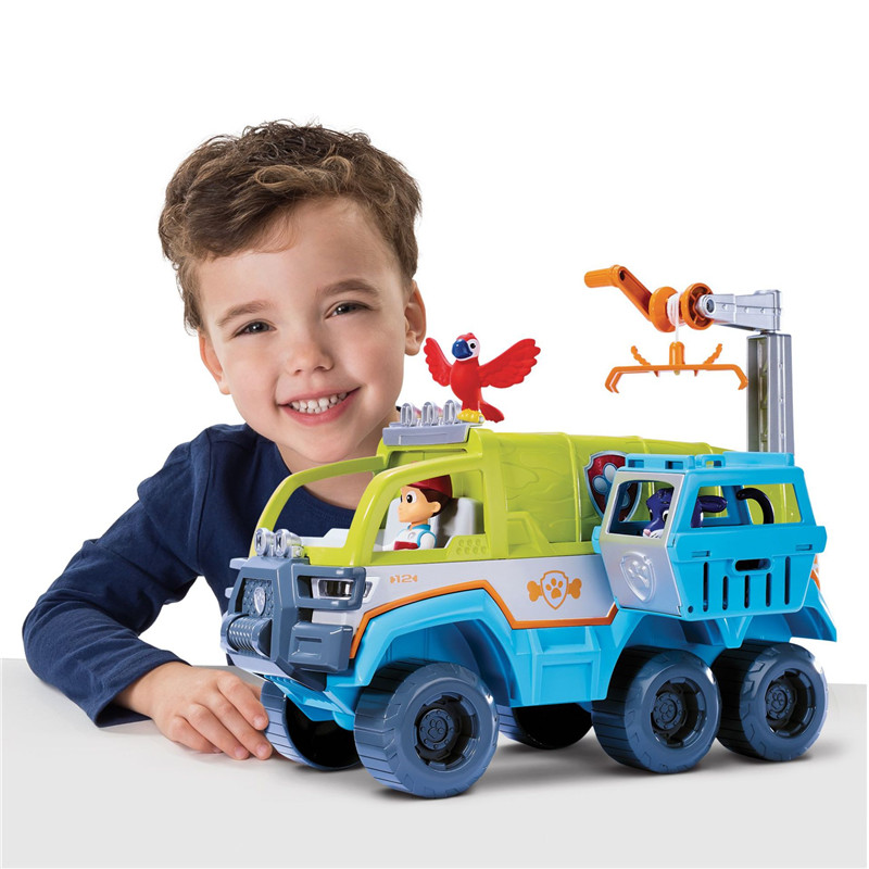 Paw Patrol Dog patrol car Jungle Off-road Vehicle Rescue Base Set Tracker Action Figure Model Patrulla Canina juguete Toys GiftPaw Patrol Dog patrol car Jungle Off-road Vehicle Rescue Base Set Tracker Action Figure Model Patrulla Canina juguete Toys Gift