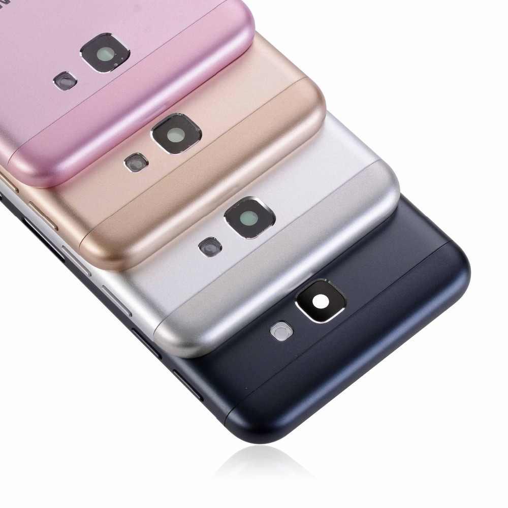 Đối Với Samsung Galaxy J7 Thủ G610 G610F G610M Mới Ban Đầu Điện Thoại Di Động Khung Gầm Nhà Ở Bảng Điều Khiển Trở Lại Phía Sau Pin Bìa Backplate