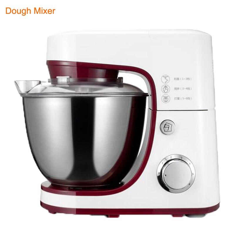 Mélangeur de pâte électrique 220 V/1200 W mélangeur d'oeufs professionnel mélangeur de nourriture de support de cuisine 4.2L Milkshake/mélangeur de gâteau pétrissant la Machine