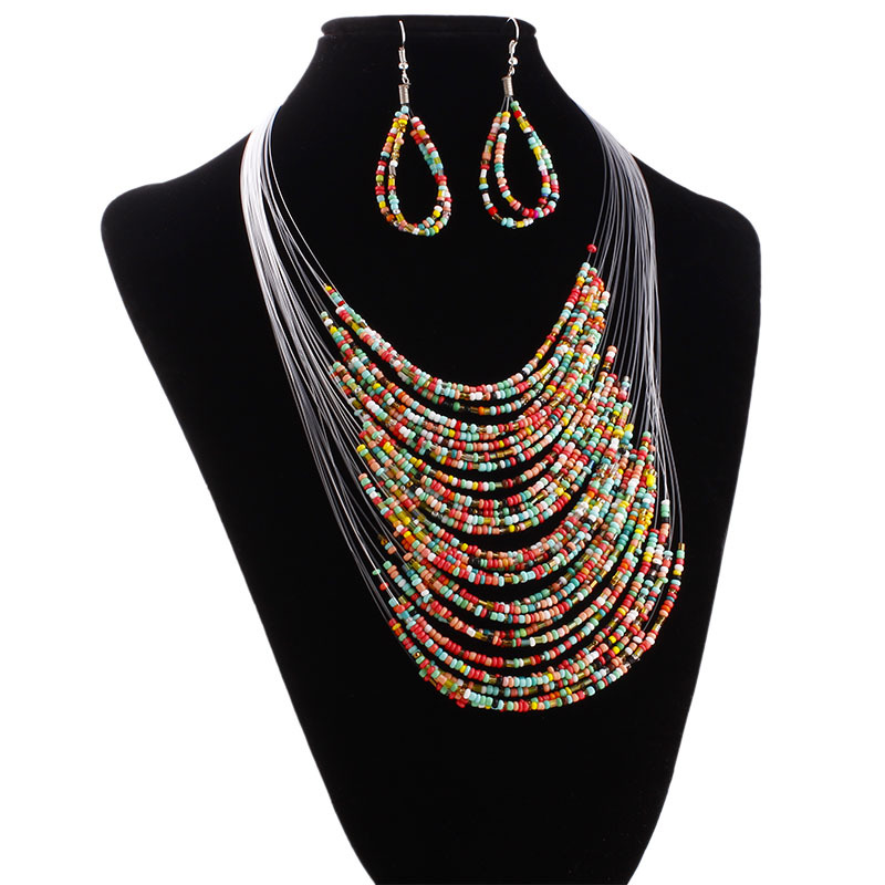 African Jewelry Set 2017 Nigerian Wedding Jewelry Sets for Brides Party Rope Bridal neck ...