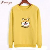 2017 Autumn Hoodies Fashion Women Thickening Harajuku Funny Pocket Panda Printed Sweatshirt Winter Lady Girls O