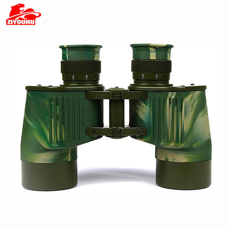 ZIYOUHU 7X40New Military <font><b>Binoculars</b></font> 40mm Big Eyepieces Waterproof Camouflage Telescope Hunting For Outdoor Activities Camouflage image