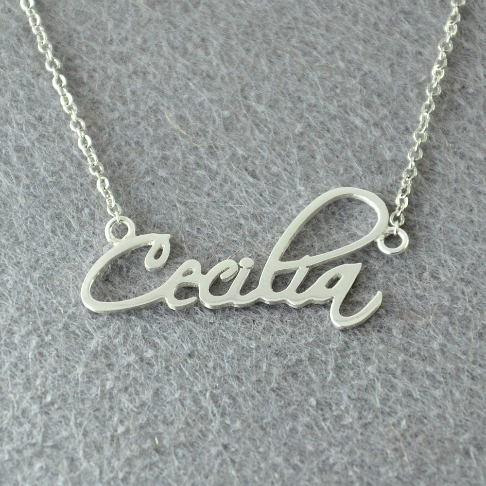 Personalized Name Necklace Custom Signature Necklace Personalised Handwriting Necklace Handmade Jewelry Signature Pendant epiphone ltd matt heafy signature les paul custom ebony