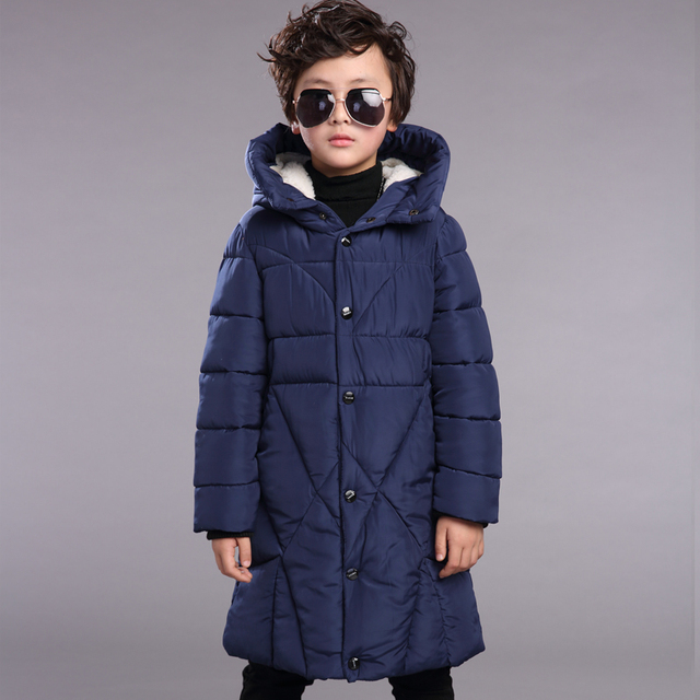 2016 Warm Boy's Winter down Jackets Newest baby boy's Coats thick duck Down brand Kids jacket Children Outerwears cold winter