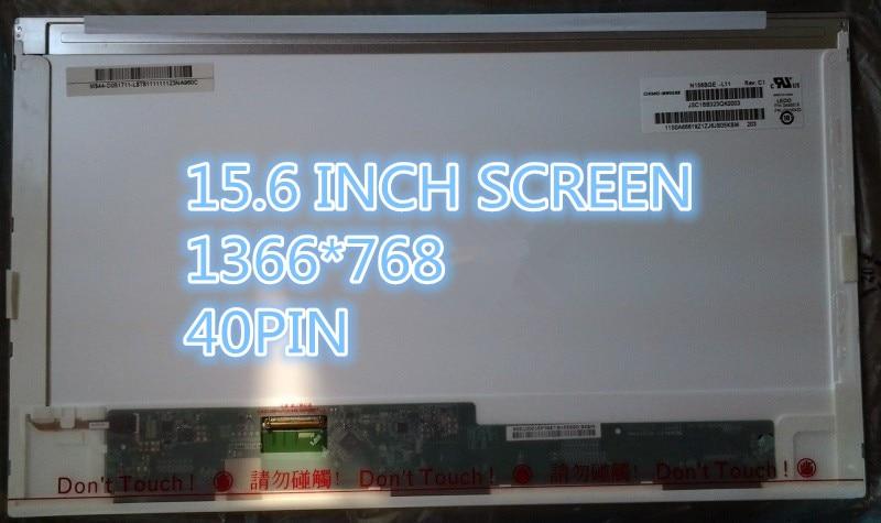 15,6 pulgadas reemplazo de la pantalla LCD para Matriz de portátil pantalla para Toshiba Satellite C50 C850D C855D C650 C660 C660D L650