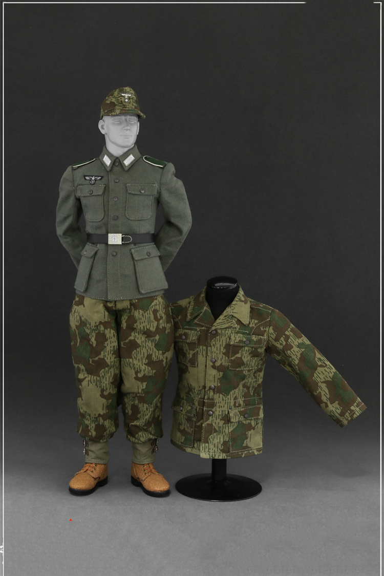 1/6 AL10010A WWII German Wehrmacht Uniform Suit Models for 12 inches Male Action Figure world war ii german wwii wehrmacht officer 1 6 soldier set model stanford erich vo gm637 for gift collection
