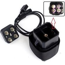 مقاوم للماء 18650 بطارية ليثيوم حزمة صندوق تخزين غطاء مع USB تيار مستمر مزدوج إخراج 8.4 فولت للدراجة مصابيح إنارة رأسية هاتف محمول