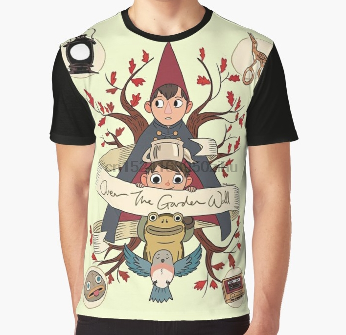 69d7d92e All Over Print T Shirt Men Funny tshirt Over The Garden Wall Graphic T-Shirt